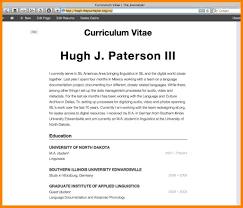 resume personal profile examples curriculum vitae example in uk