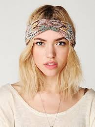 thick headbands the new look is the thick headband either worn around the or