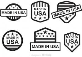 made in usa logo free vector graphic free found