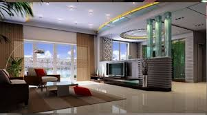 download modern contemporary living room with hall wall room