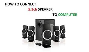home theater system f d how to connect 5 1 speakers to a new computer hd youtube
