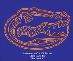 sale florida gators logo rhinestone template dxf svg pdf ai