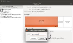 format exfat partition ubuntu how to change linux partition label names on ext4 ext3 ext2 and swap