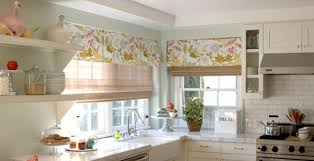 Kitchen Window Curtain Ideas Inspiring Kitchen Window Treatments At For Windows