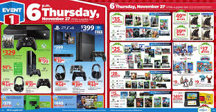 black friday ps4 2014 walmart black friday ad breaks sales into