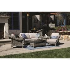 6 Piece Patio Set by Sunset West La Costa 6 Piece Wicker Conversation Set 4 5 Person