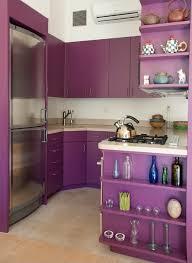 purple and grey kitchen decor defines
