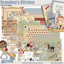value pack grandma u0027s kitchen by ginny whitcomb at scrapgirls com