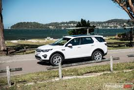 range rover white 2017 2017 land rover discovery sport hse td4 180 review performancedrive
