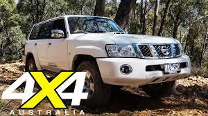 nissan australia car range nissan patrol st road test 4x4 australia youtube