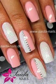 White Pink Nail 17 Pink Nail Designs You Ll Want To Copy