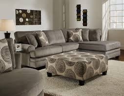 plush sectional sofas leather u0026 fabric sectional sofas