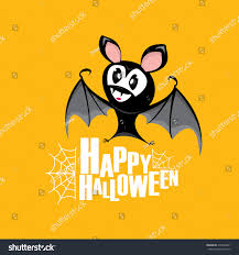 happy halloween vector kids funny background stock vector