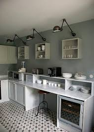 Wall Lights For Kitchen 11 Best Industrial Style Black Sconces For The Kitchen Remodelista