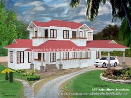kerala style homes by muhammed shamim 3d home exterior 2