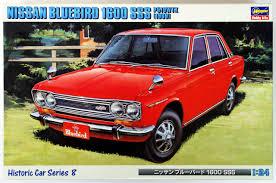 nissan bluebird new model hasegawa nissan bluebird 1600 sss p510wtk 1969 1 24 japan ebay
