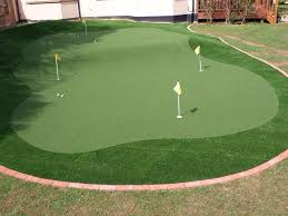 putting green golf pinterest golf backyard and decking