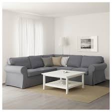 Mobile Studio Angolare by Ektorp Sectional 4 Seat Corner Nordvalla Dark Gray Ikea
