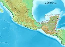Map Of Mexico States And Cities by Maya Peoples Wikipedia
