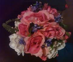 Fake Flowers My Camera My Need Inspiration For Flowers For A Fuschia Navy Blue Wedding