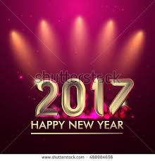Happy New Year Invitation Happy New Year 2017 Party Poster Banner Or Invitation
