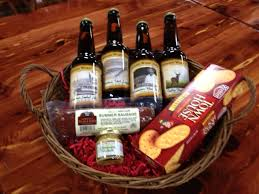 Cheese And Cracker Gift Baskets Give The