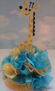 giraffe baby shower decorations could totally do this with a whale shark my husband drew this