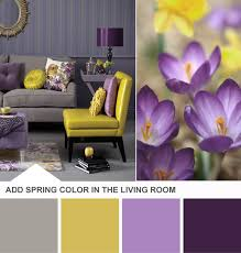 Yellow And Purple Bedroom Ideas Purple Bedroom Accents Purple And Yellow Living Room Color