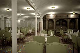 titanic first class dining room titanic ii