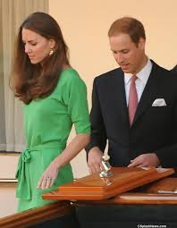 duchess cambridge green diane von furstenberg dress archives