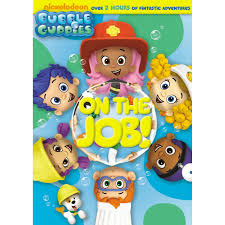 bubble guppies on the job out on dvd now
