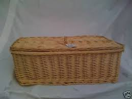 wicker casket wicker pet coffin casket memorial satin lined size l co uk