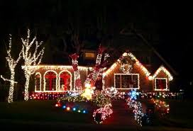 best christmas display of lights in homes in orange county 2012