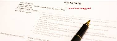 Resume Format For Mechanical Fresher Resume Samples Format More Than 100 Pdf