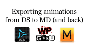how to export animations from daz studio to marvelous designer and
