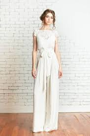 wedding jumpsuit 16 fierce wedding jumpsuits for brides who don t do dresses