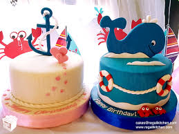 Ocean Cake Decorations Cakes By The Regali Kitchen We Customize Delicious Cakes And