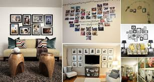 ideas for displaying photos on wall 50 cool ideas to display family photos on your walls home design