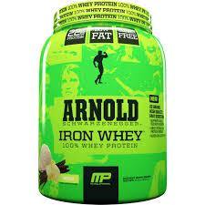 musclepharm arnold schwarzenegger iron whey 100 whey protein