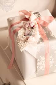 chic wrapping paper à la parisienne gift wrap with a dash of shabby chic