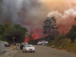 Wildfire Lompoc Ca by Willis Jacobson Wjacobsonlr Twitter