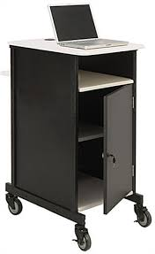 multimedia cart with locking cabinet metal computer cart locking cabinet grommets