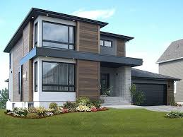 modern 2 story house plans contemporary house plans modern two story home plan 027h 0336