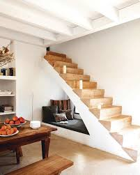 cabinets rustic wood under stair storage rattan baskets circular