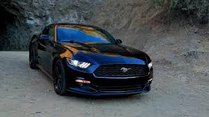 Mustang Black Ford Mustang Black Wallpaper Car Autos Gallery