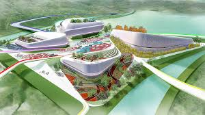 melk qingdao expo design landscape architecture planning urban