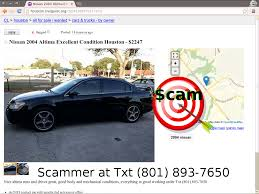 nissan altima for sale by owner in houston tx autotrader mitula olx and everywhere else too scam vehicle