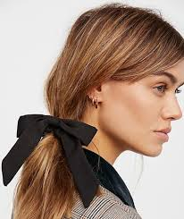 bow hair this is the hair accessory trend you ll be seeing everywhere in