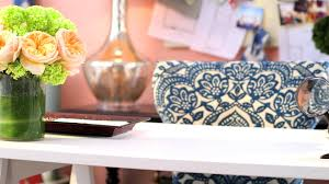 pier 1 imports how to decorate your home office youtube