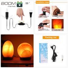 himalayan glow salt l salt l bulbs salt l replacement cord with dimmer for himalayan